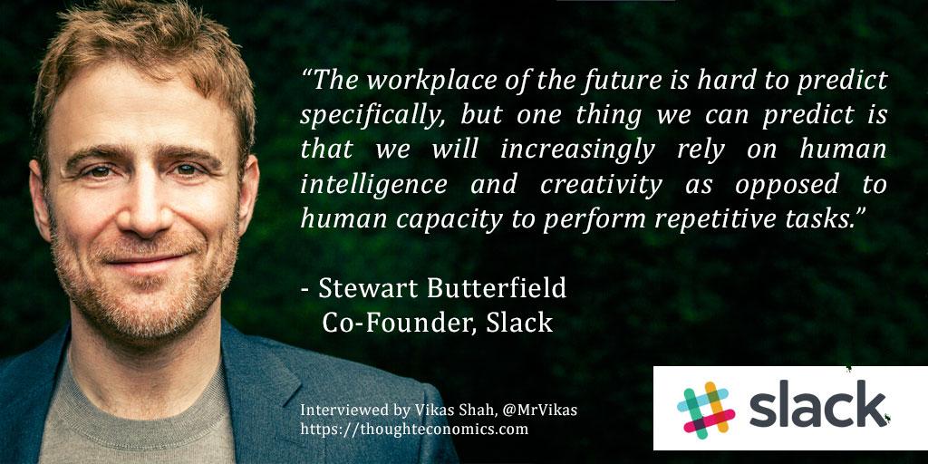 A Conversation with Slack Co-Founder, Stewart Butterfield