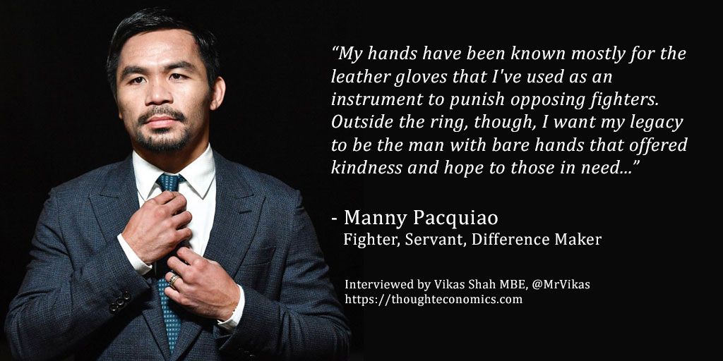 Manny Pacquiao Fighter Servant Difference Maker