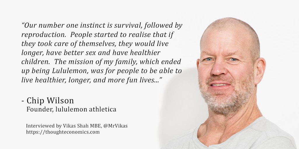 A Conversation with Chip Wilson, Founder of lululemon athletica
