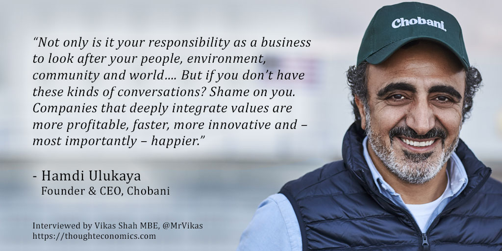 A Conversation with Hamdi Ulukaya, Founder and CEO of Chobani