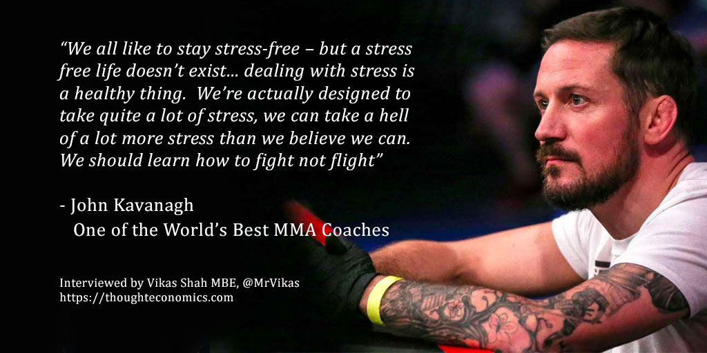 A Conversation with John Kavanagh; One of the World's Best MMA Coaches