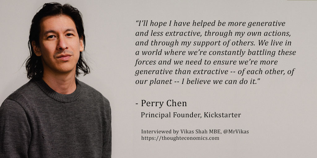 Perry Chen, Kickstarter