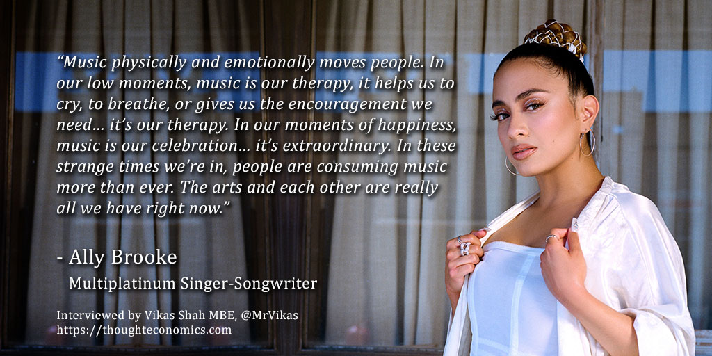 A Conversation with Ally Brooke, Multiplatinum Singer-Songwriter.