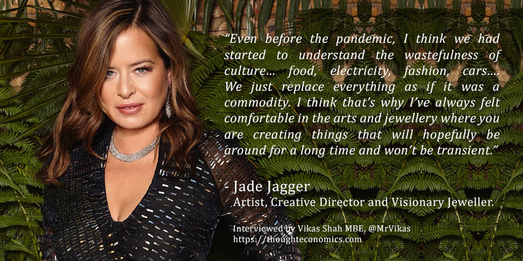 A Conversation with Jade Jagger, Artist, Creative Director and Visionary Jeweller.