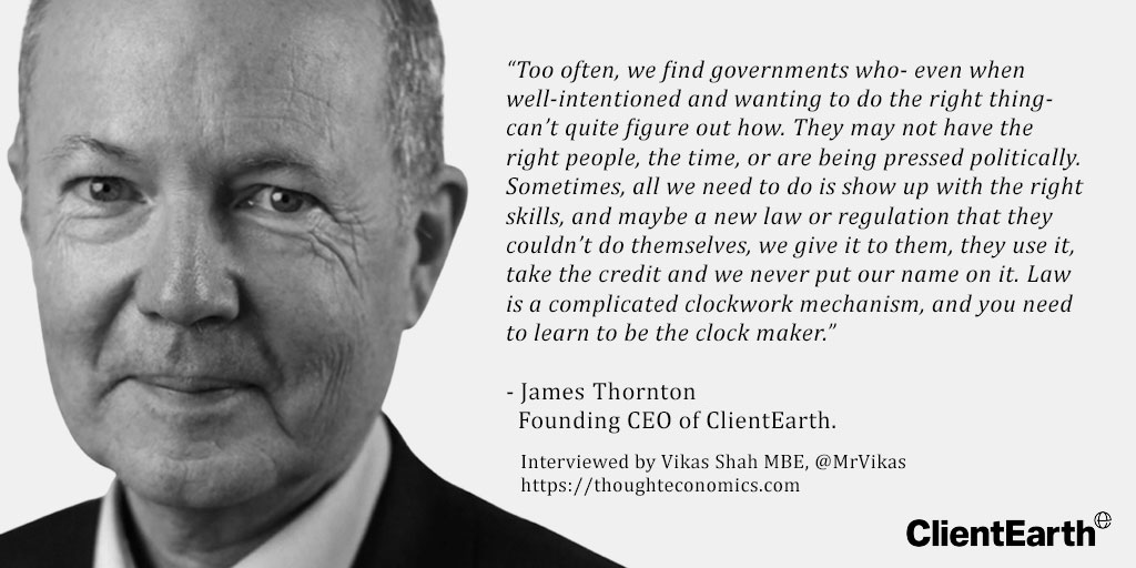 James Thornton - Client Earth