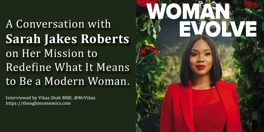 A Conversation with Sarah Jakes Roberts on Her Mission to Redefine What It Means to Be a Modern Woman.