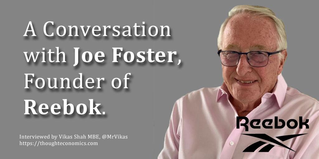 A Conversation with Reebok Founder, Joe Foster.