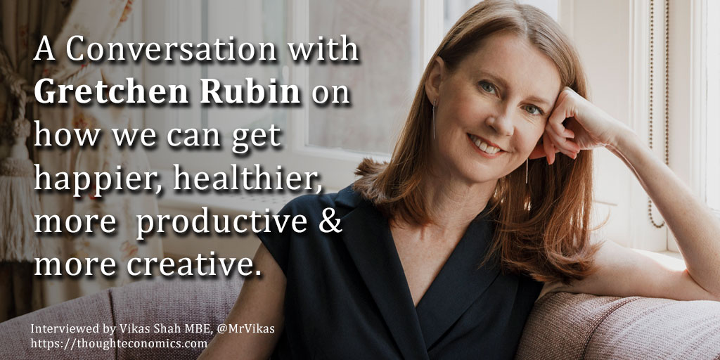 A Conversation with Gretchen Rubin on Finding Happiness.